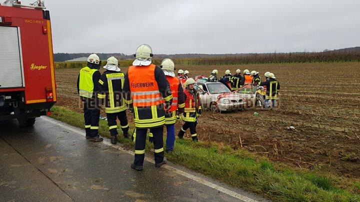 Verkehrsunfall auf L123 (24.11.2