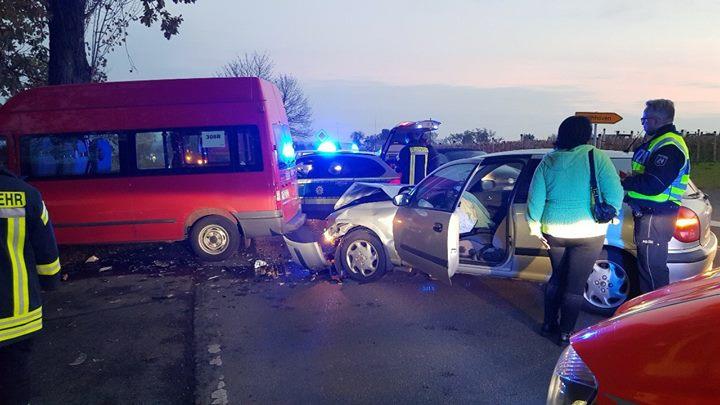 Verkehrsunfall bei Werthhoven Am