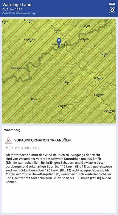 Vor-Warnung vor Orkanböen (02.0