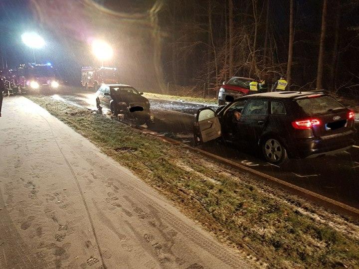 Verkehrsunfall auf L158 Aktuell